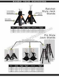 Axle Stand Jack