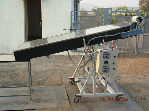 Two Pass Solar Heater