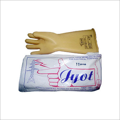 Electrical Safety Rubber Hand Gloves