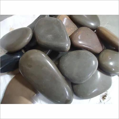 Flat pebble