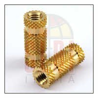 Brass Triple Knurling Inserts