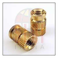 Brass Chevron Threaded Inserts