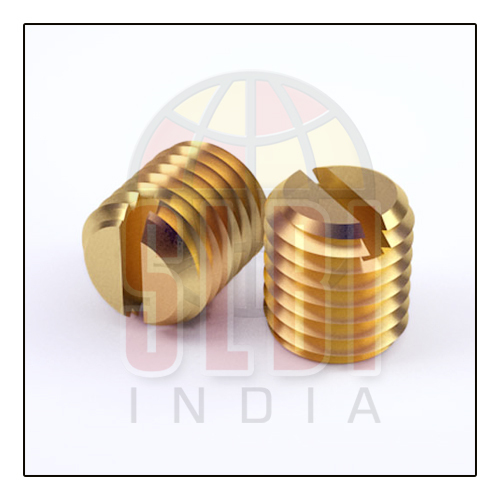 Slotted Brass Grub Screws