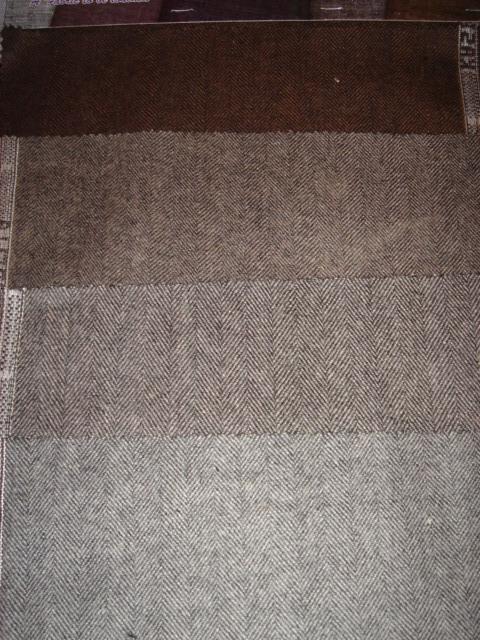 Wool Herringbone Blanket Fabric