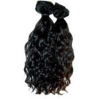 Machine Weft Wavy hair