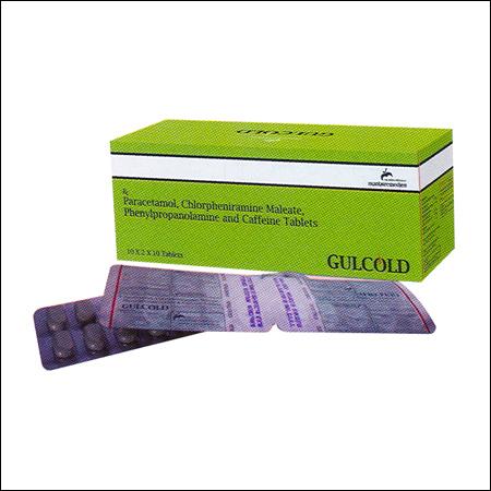 Paracetamol Chlorpheniramine Maleate