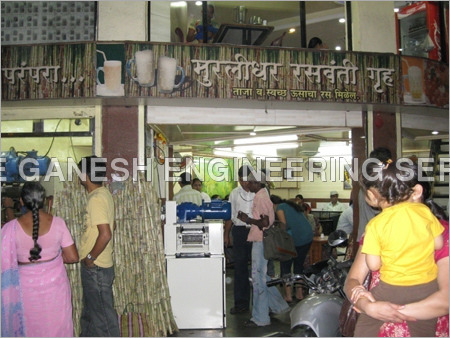 Sugarcane Juice Center Machine
