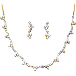 Sleek Cheap Diamond Necklace Manufacturer