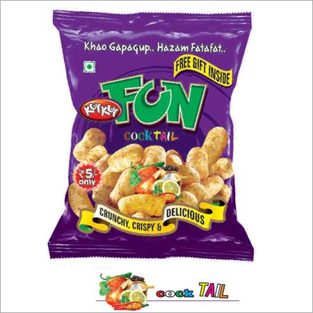 Crunchy Cheese Puffs