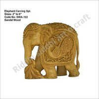 Elephant Carving Statues