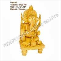 sandalwood Religious God Statues