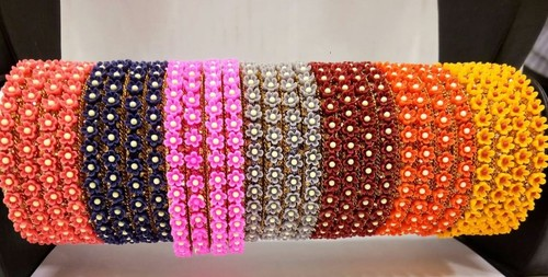 Party Wear Lac Bangles