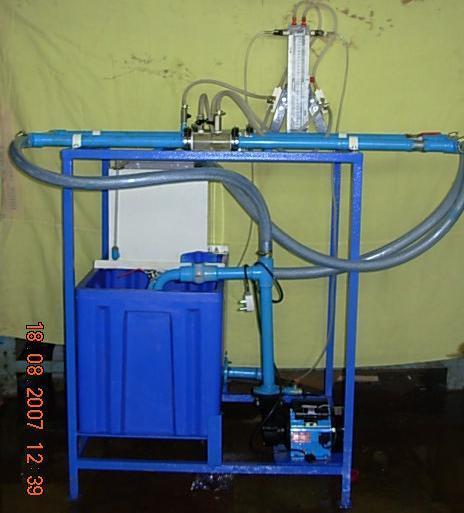 Flow Measurement By Venturimeter &Orifice Meter