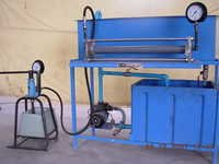 Pipe Pressure Test Apparatus