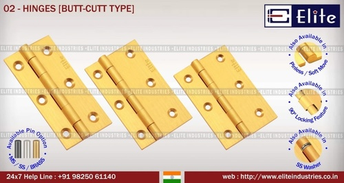 Hinges But Cut Type