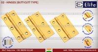 Brass Cut Type Hinges