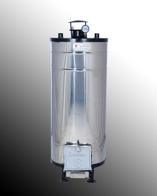 Biomass Water Gyser