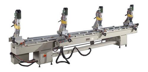 Pneumatic Multi Head Drilling Machine