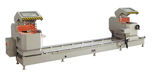 Double Mitre Saw of Window Machine
