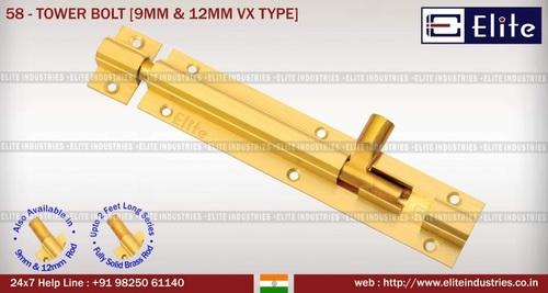 Tower Bolt 9mm & 12mm VX Type