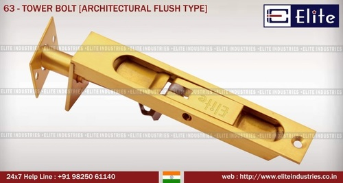 Tower Bolt Architectural Fluse Type