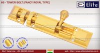Tower Bolt Fancy Royal Type