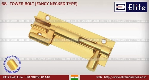 Tower Bolt Fency Necked Type