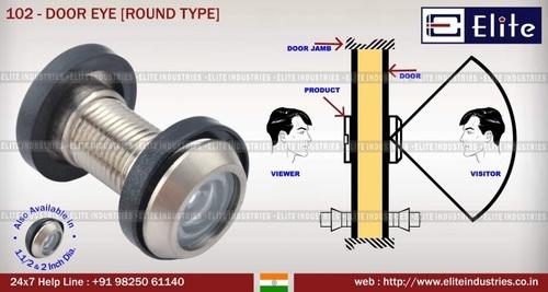 Round Type Door Eye