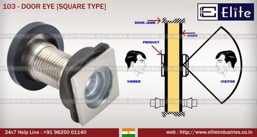 Square Type Door Eye