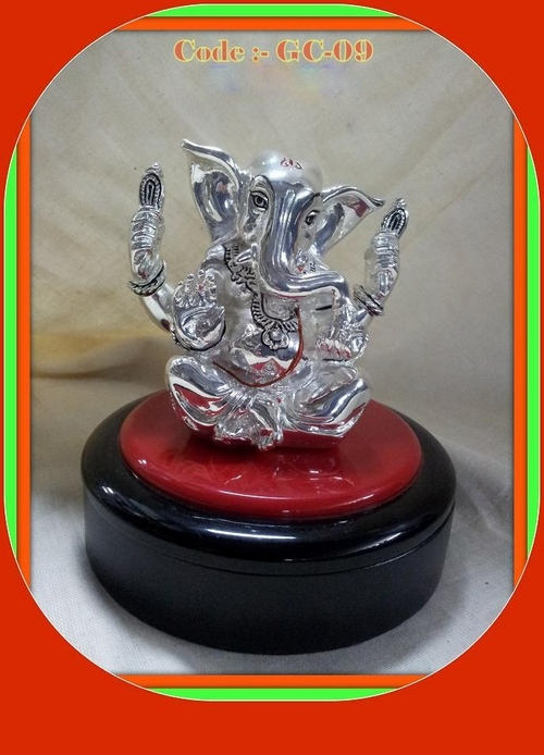 Big Silverplated Ganesha
