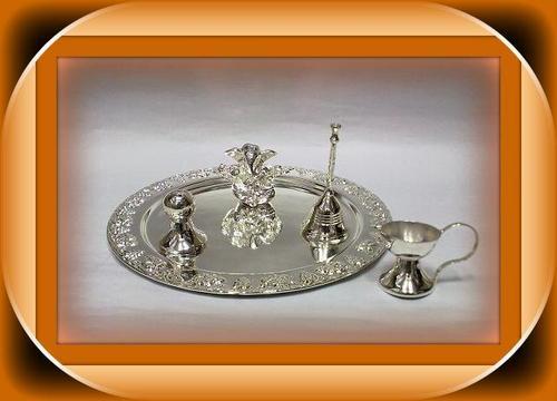 Arta thali with Ganesha