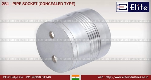 Pipe Socket Conceled Type