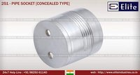 Conceled Type Pipe Socket