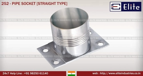 Pipe Socket Straight Type
