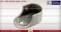 Pipe Socket ovel U Type