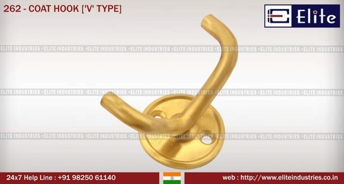 Coat Hook 'V' Type