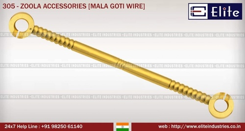 Zoola Accessories Mala Goti Wire