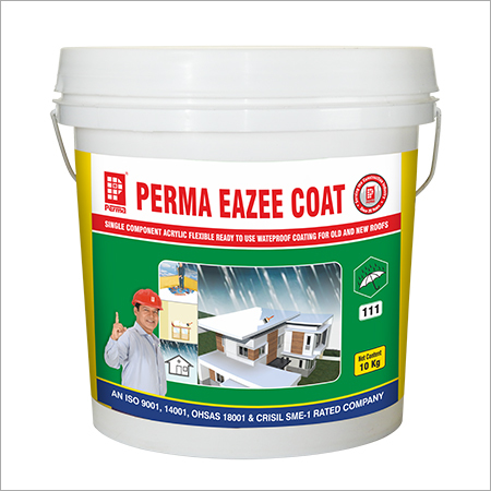 Perma Chemicals White Water Based Acrylic Waterproof Coating