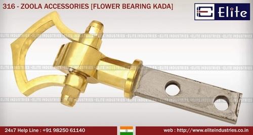 Zoola Accessories Flower Bearing Kada