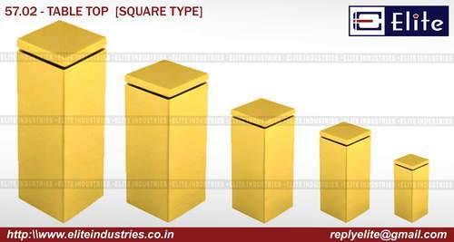 Square Type Table Top