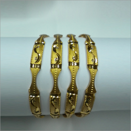 Designer Metal Bangle Set