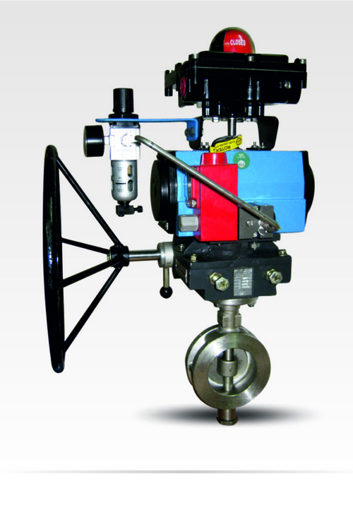 Remote Operated Butterfly Valve