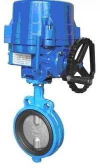 Electric Actuator Operated Butterfly Valve