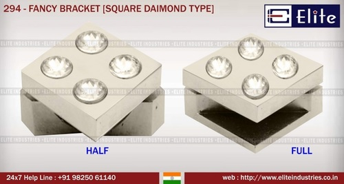 Fancy Bracket Square Diamond Type