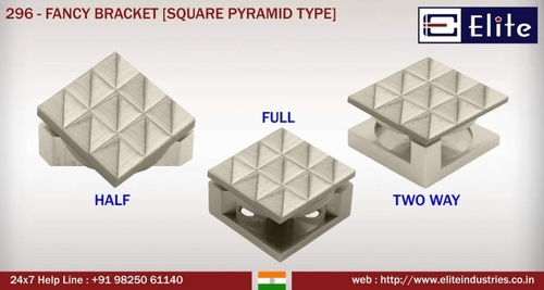 Fancy Bracket Square Pyramid Type