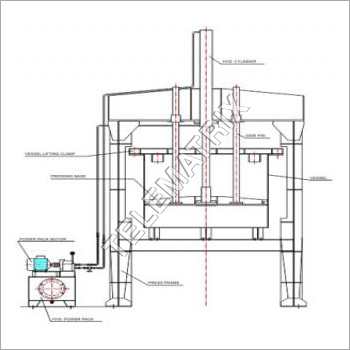 Hydraulic Ram Discharge Press