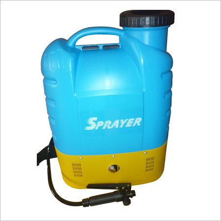 Blue Round Battery Sprayer