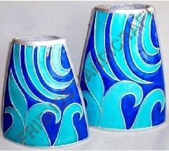 Flat Flower Vase