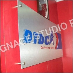 Reception Signage Boards