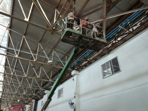 Industrial Structure Cleaning